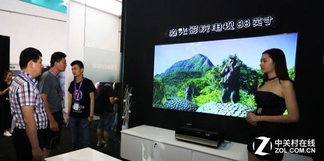 未来市场之路 海信激光影院电视专访