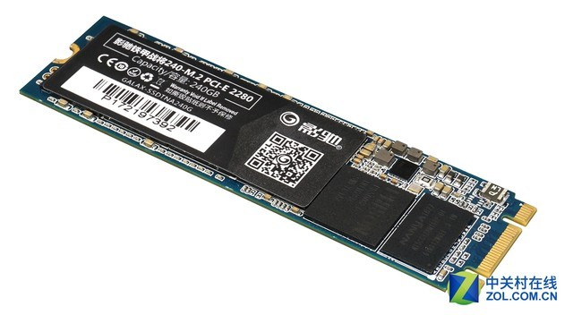 影驰铁甲战将240-M.2 PCI-E SSD发售!