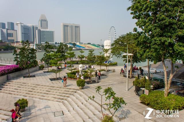 大C游世界 新加坡必游之地鱼尾狮公园