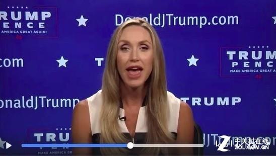 """特朗普在网络上开播""""真新闻"""",播报员是他儿媳"""