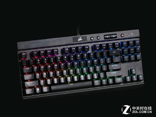 这是海盗船最便宜的一款RGB银轴键盘