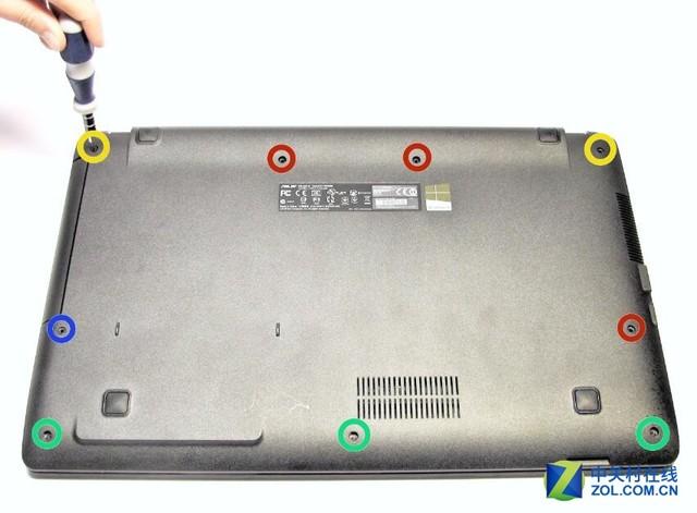华硕笔记本X551CA+自己更换液晶显示器