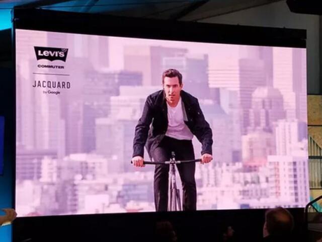 李维斯谷歌研发新智能夹克:配多点触控传感器