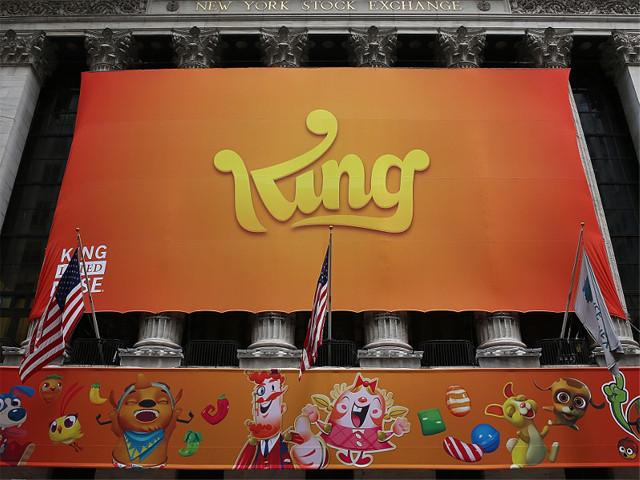 动视暴雪59亿美元收购游戏开发商King