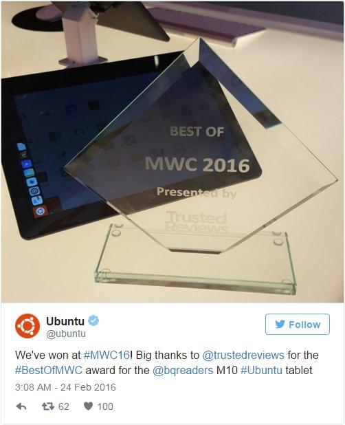 """""""MWC 2016最佳产品""""出炉 获奖的竟是它"""