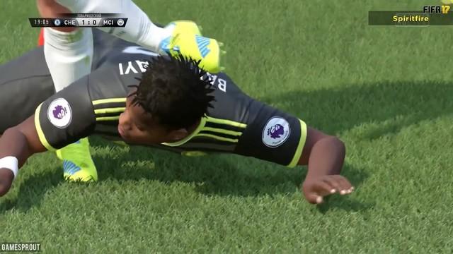 灵魂拥抱《FIFA17》搞笑BUG视频集锦