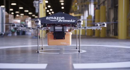 亚马逊新专利:无人机为抛锚电动汽车充电