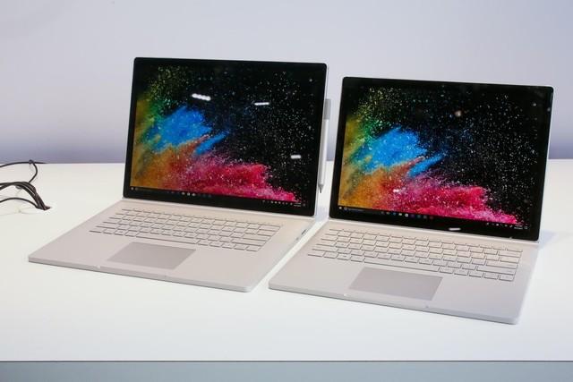 惊喜终极笔电:微软Surface Book 2发布