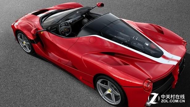 近1000万美元的LaFerrari Aperta打破新车拍卖纪录