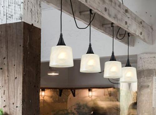 简约创意个性单头玻璃吊灯