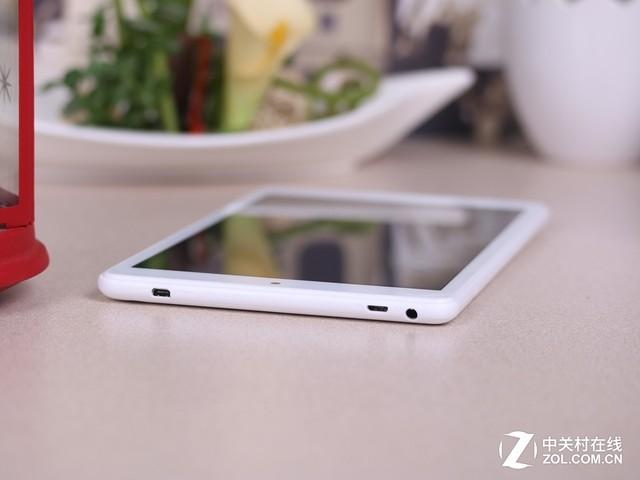 纤巧素白如薄瓷 台电X80 Plus平板评测