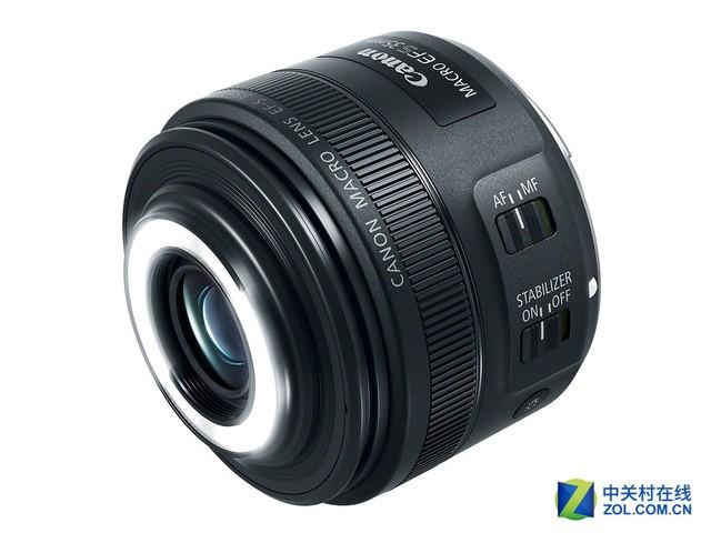 800D好搭档 佳能正式发布35mm f/2.8微距