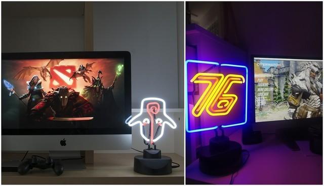 专为游戏玩家设计 这样的台灯你见过么?