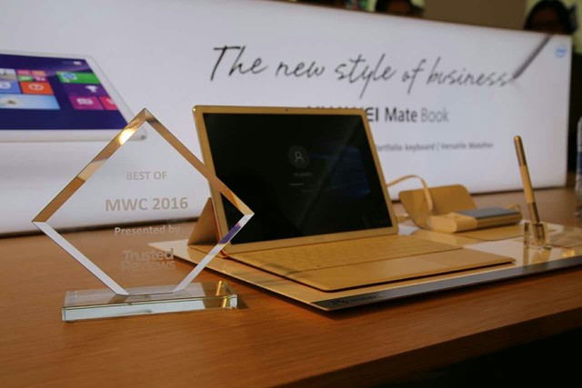 HUAWEI MateBook旋风式斩获五项国际媒体大奖
