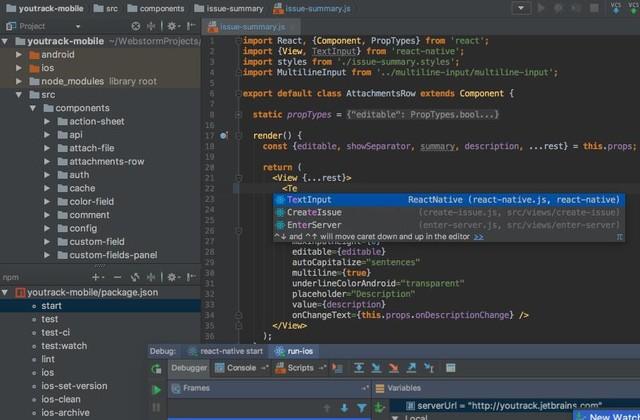 盘点四个最好用的JavaScript语言IDE