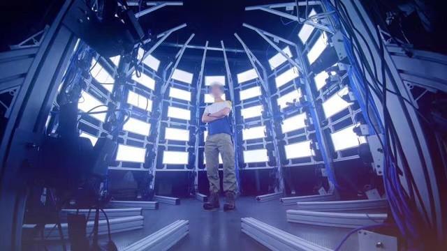 百台相机同时触发 卡菲助力3D全身扫描