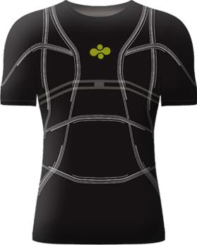 D-shirt智能T恤 追踪你的身体健康
