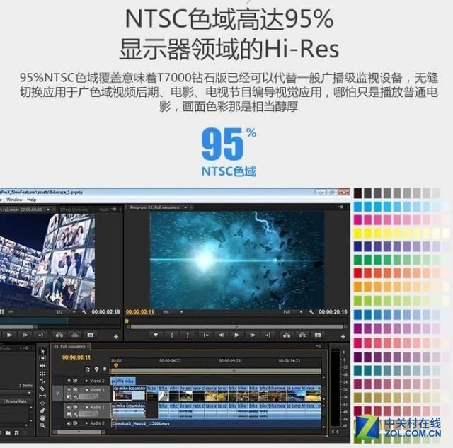 HKC制图显示器 高色域看懂每一刻美好