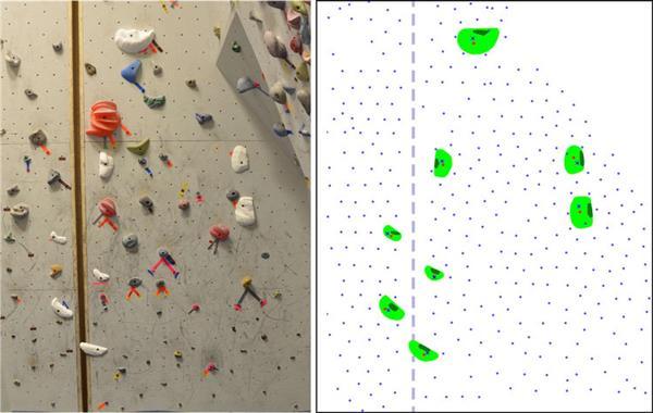 """在室内3D打印复制经典""""朝圣""""攀岩路线"""