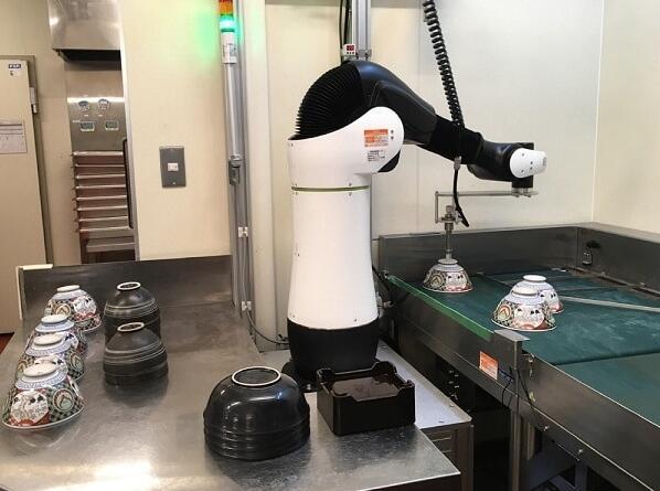 饭碗不保 吉野家引入CORO机械臂协助洗碗