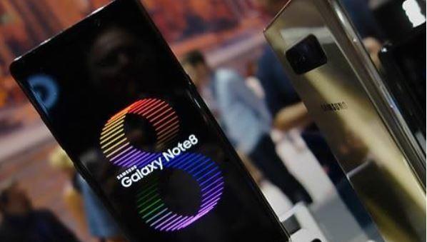 三星Note 8预订火爆 苹果看了压力很大