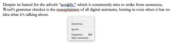 研究发现 微软Word让用户文章变更糟糕
