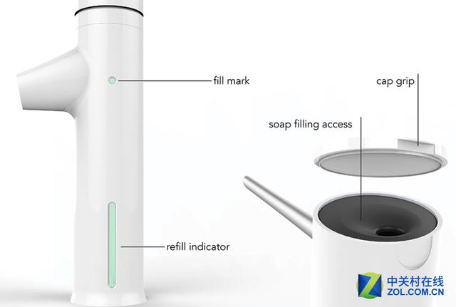 让洗手更方便 新奇多功能水龙头问世