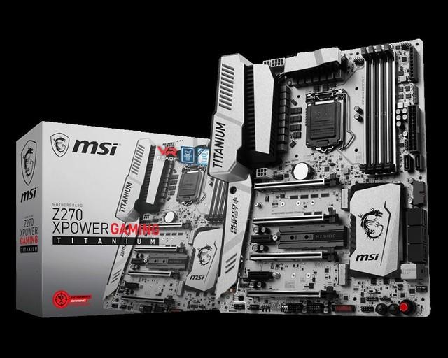 另外,微星Z270 XPOWER GAMING TITANIUM主板还拥有强悍的扩展能力,并在四条PCI-E插槽、三个M.2接口与4个内存插槽上加装了钢铁装甲,让安装在它们身上的硬件变得更为牢固可靠,一如既往地提供优异的性能。