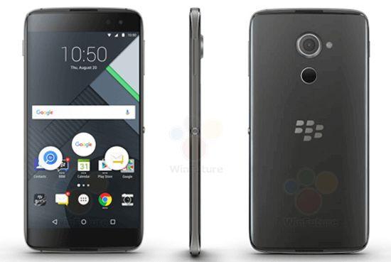 黑莓新Android机曝光 5.5英寸2K屏幕