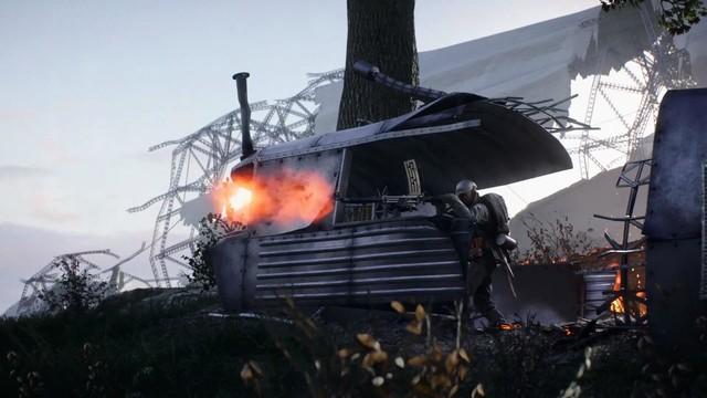 《战地1》迎来免费地图巨人阴影 榴弹弩