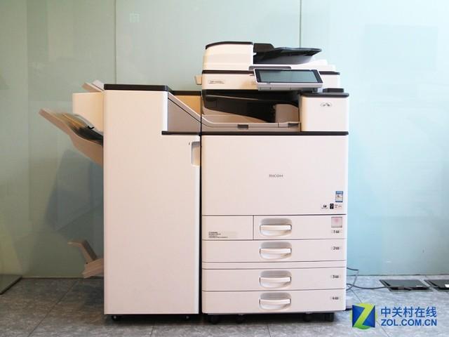 彩色工作方式 理光C4504SP复印机评测