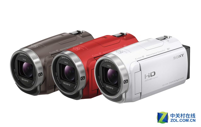 三机身色彩 索尼发布HDR-CX680摄影机