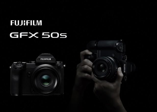 富士中画幅无反相机GFX 50S正式发布