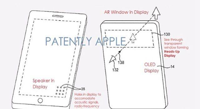 苹果新专利 iPhone将配备AR平视窗口