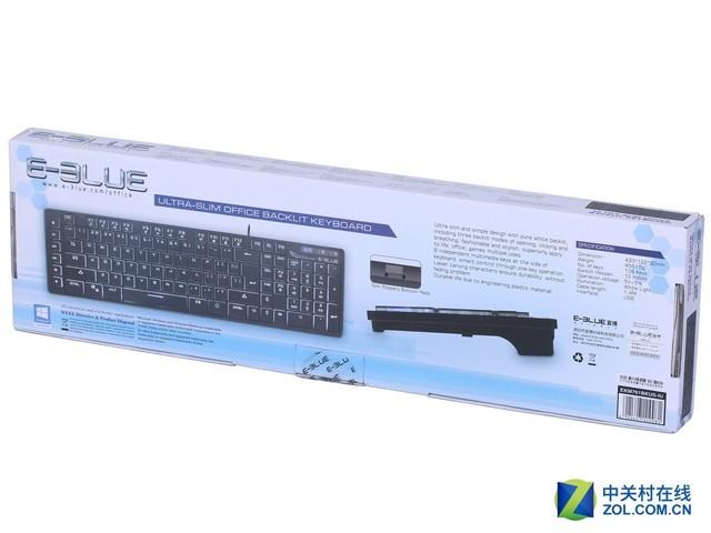 删繁就简 宜博EKM761背光薄膜键盘评测
