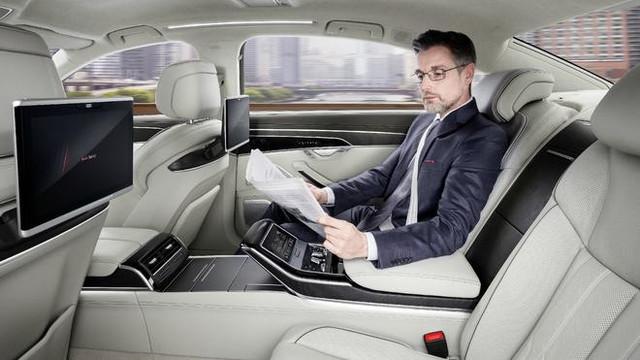 """""""黑科技""""满满 全新一代奥迪A8正式发布"""