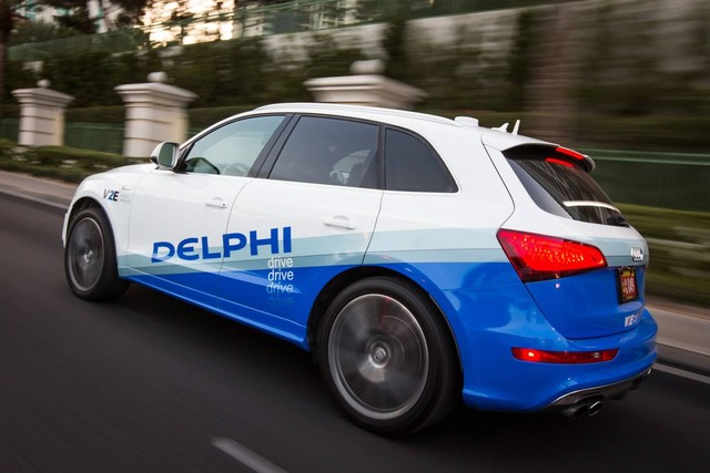 德尔福宝马英特尔共同研发自动驾驶平台