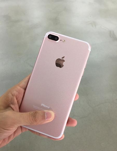 买不买?疑似玫瑰金版iPhone 7 Plus曝光