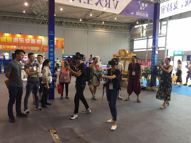 索泰VR GO带你走进大空间VR游乐新时代