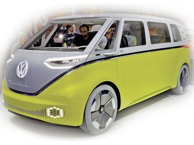 大众微巴将以电动方式复活 或2021年上市