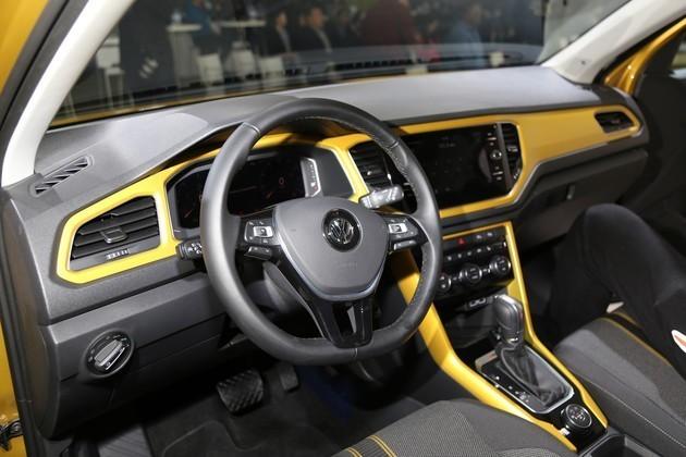 大众全新SUV T-ROC亮相/国产加长84mm