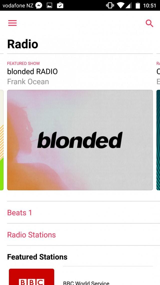 安卓端Apple Music更新 设计更清爽简洁