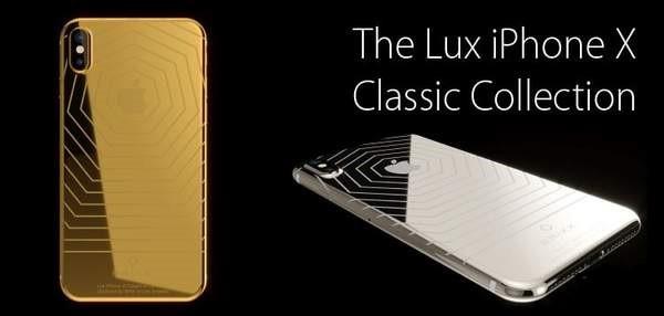 镀金版iPhoneX开启预订 三种配色 512GB售价4.9万元起