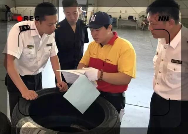 高速爆胎频发 青岛机场查获无3C认证轮胎