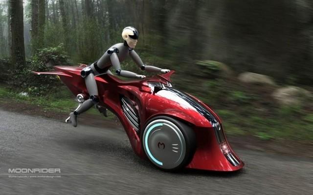 摇不上号没法买车?看看这七台飞行摩托