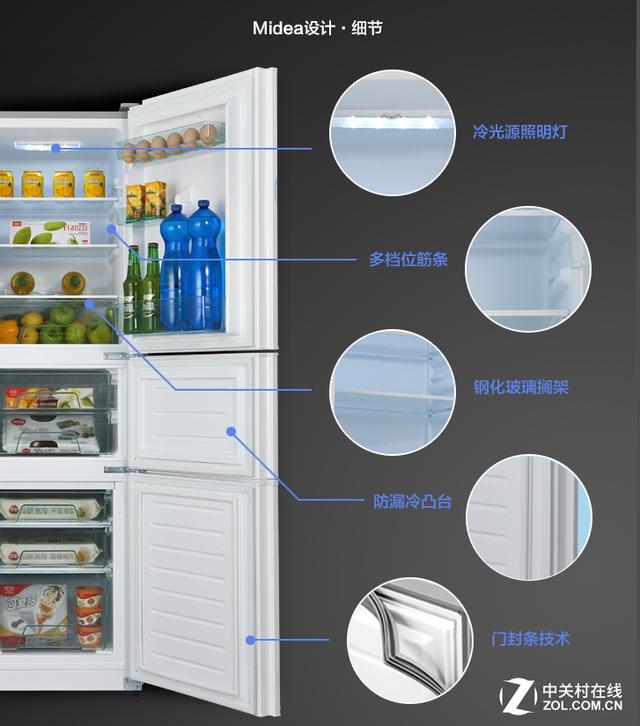 满足多种储存方式 美的冰箱引领储存新风尚