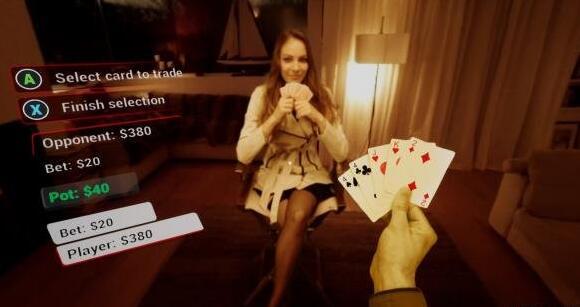 《扑克秀VR》美女陪你大战三百回合