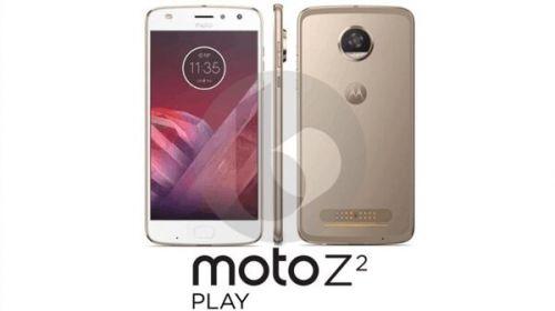 模块旗舰联想Moto Z2 Play真机照首曝
