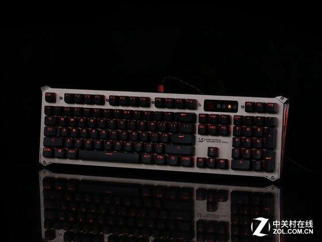 全新战斗装备 血手B840二代光轴键盘