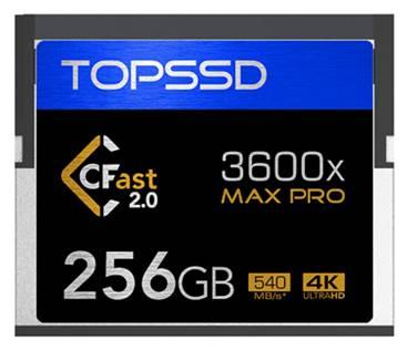 天硕首推 全球最高速CFast2.0内存卡